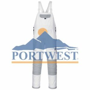 Portwest Craft Painters Pro Bib Brace Work Coverall Decorator Knee Pad Pockets