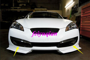 Carbon Fiber Front Fog Light Lamp Cover Trim For Hyundai Genesis Coupe 2008 2012