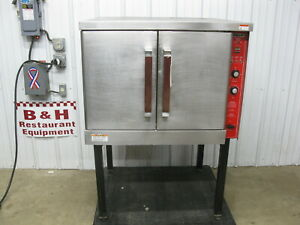 Vulcan Hart Natural Gas Full Size Bakery Convection Oven Gco4s