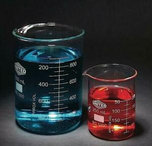 Beakers Low Form 50 Ml Single