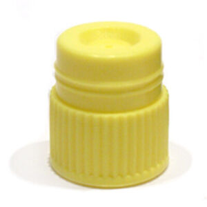 16mm Hollow Top Caps Yellow case 1000
