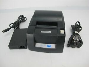 Citizen Ct s310a Thermal Receipt Printer For Pos Systems Usb parallel Black