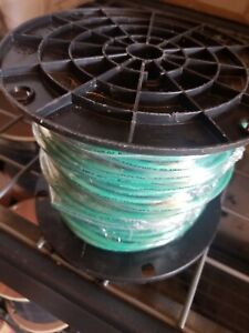 250 Ft Spool 10 Awg Gauge Green Ground Wire Solid Copper New Un Open