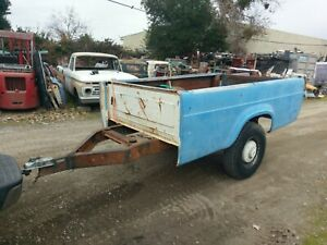 1959 1960 Dodge D100 D200 Studebaker Champ Truck Bed Trailer