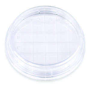 Petri Dishes With Counting Grid 60x15mm Ps 3 Vents Sterile case 1000