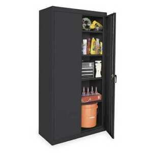 Zoro Select 1uez9 Storage Cabinet black 72 In H 36 In W