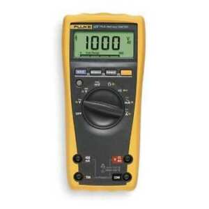 Fluke Fluke 177 Digital Multimeter With Backlight 1000v 50 Mohms 10a