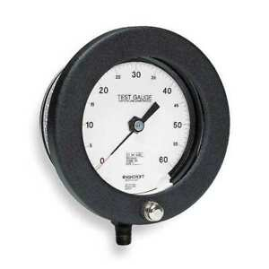 Ashcroft 60 1082as 02l 60 Psi Pressure Gauge 0 To 60 Psi 6in 1 4in Npt