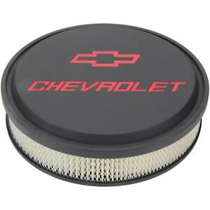 Proform 141 834 Chevrolet Slant Edge Air Cleaners Black