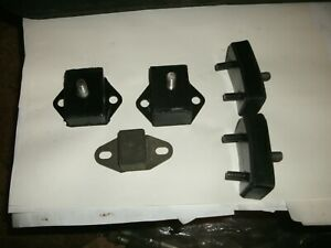 Mg Midget austin Healey Sprite engine And Transmission Mount Set 5 1958 74