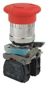 Schneider Electric Xb4bs8444 Emergency Stop Push Button red