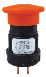 Honeywell Micro Switch 50070974 002 01 Emergency Stop Push Button red