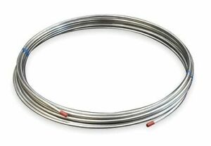 Zoro Select 3adc8 1 4 Od X 50 Ft Welded 304 Stainless Steel Coil Tubing