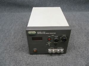 Bio Rad 1755 Refractive Index Monitor tested Powers On