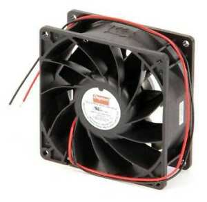 Dayton 2rtj4 Axial Fan Square 24vdc Phase 106 3 Cfm 3 5 8 W