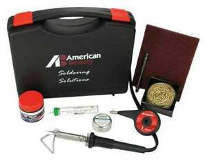 American Beauty Psk50 Soldering Kit 50w iron Plated Copper Tip