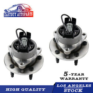 For 05 06 07 08 09 10 Chevy Cobalt Hhr G5 Ion Front Wheel Hubs Bearings Pair
