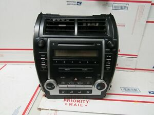 2012 2013 Toyota Camry Radio With Heater Ac Climate Controls