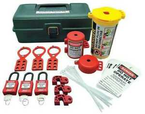 Zing 7129 Portable Lockout Kit electrical tool Box