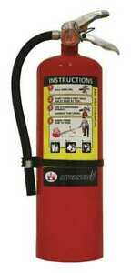 Badger Adv 10 Fire Extinguisher 4a 60b c Dry Chemical 10 Lb
