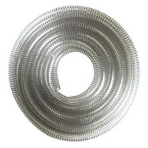E James 1530 625100 Suction And Transfer Hose 25 Ft clear