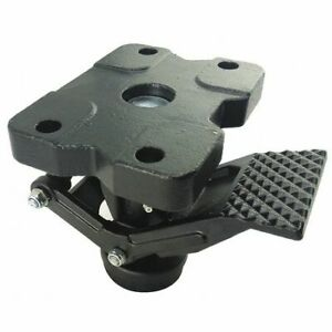 Zoro Select 16d136 Floor Lock hd extended Pedal for Casters