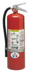 Badger 10 mb 8h Fire Extinguisher 4a 80b c Dry Chemical 10 Lb