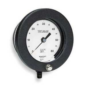 Ashcroft 60 1082as 02l 400 Psi Pressure Gauge 0 To 400 Psi 6in 1 4in