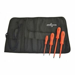 Jameson itl 02150 Insulated Screwdriver Set 5 Pc