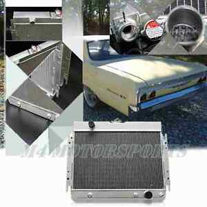 3 Row Aluminum Radiator For 64 67 Chevy Chevelle Impala 63 68 25 X16 Core