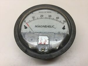 Dwyer Instruments Magnehelic Pressure Gauge 0 3 H2o 1 8 Connection