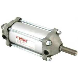 Velvac 100122 2 1 2 Bore Double Acting Air Cylinder 4 Stroke