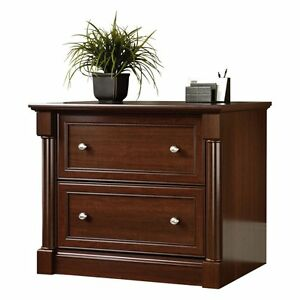 Sauder Palladia Lateral File Cabinet Select Cherry