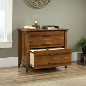 Sauder Carson Forge Lateral File Cabinet Cherry
