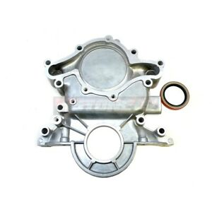 96 01 Ford 5 0l Aluminum Timing Chain Cover Explorer Mountaineer Mustang Small