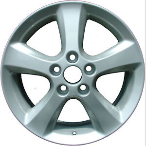 69452 Refinished Toyota Camry 2005 2009 17 Inch Wheel Rim Oe Silver Painted
