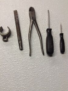 Snap On Lot Of 5 Various Tools Usa