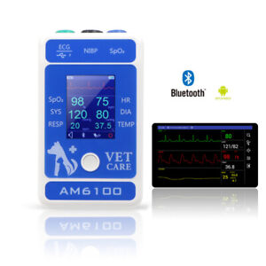 Am6100 Veterinary Multi parameter New Palm Patient Monitor