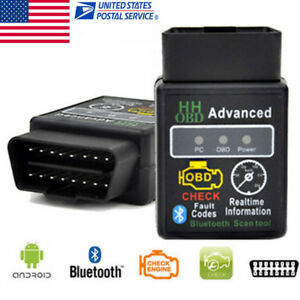 Car Auto Diagnostic Scanner Tool Elm327 Vehicle Hh Odb Odb2 Advanced Bluetooth W
