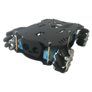 Agv 4wd Smart Car Chassis Kit Mecanum Wheel Chassis Unfinished Only Frame