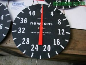 Vintage Disc disk Dial Spring Scale Newtons 1 44 The Welch Scientific Co