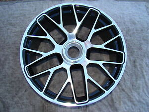 Porsche 991 New Oem Factory Original 20 Single 1 Front Center Lock Wheel Only