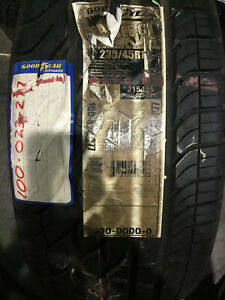 1 New 235 45 17 Goodyear Eagle Gt Tire