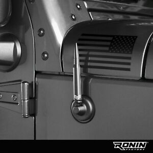 Bullet Antenna For Jeep Wrangler Jk Jl 2007 Accessories By Ronin Factory