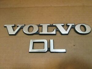 87 88 89 Volvo Dl Trunk Emblem Logo Badge Sign Symbol