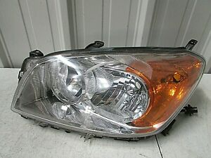 09 2010 2011 2012 Toyota Rav4 Rav 4 Factory Oem Left Headlight W o Sport R5