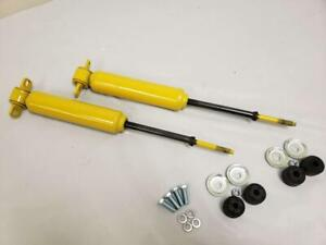 Monroe Mustang Ii Front Suspension Gas Shocks For Tubular A Arms Shock Bolts