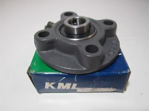 Kml fc204 4 bolt Mounted Piloted Flange Pillow Block Bearing Housing