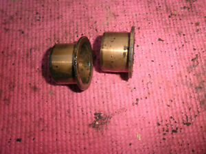 Willys Jeep Overland Truck Front Axle Brass Bushings 2 1950 s