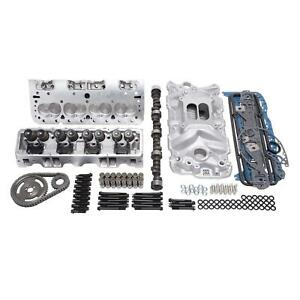 Edelbrock 2038 Power Package Top End Engine Kit Chevy 5 7l 350